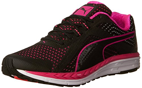 Puma Snelheid Van 500 Ontsteken Van Vrouwen Loopschoenen Zwart / Roze Glo / Zwart