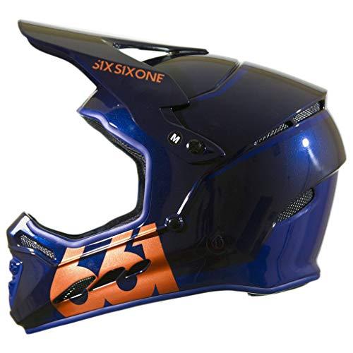 SixSixOne Reset Helmet Midnight Copper, XL 661 Full Face Helmet