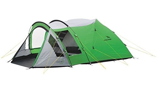 Easy Camp 4 Person Cyber 400 Tent, Green/Silver, 120196