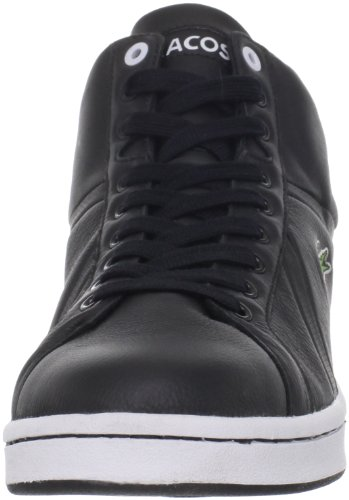 Lacoste Heren Bryont Mid Cr Sneaker Zwart / Wit