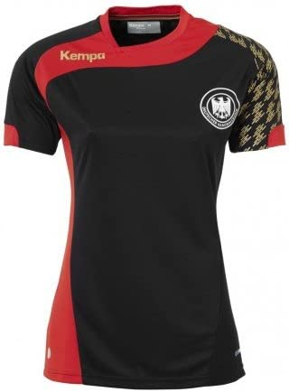 Kempa DHB Deutschland Trikot Auswärts Handball Frauen schwarz
