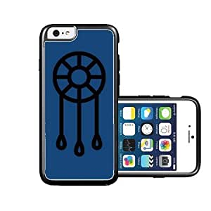RCGrafix Brand Dream-Catcher Dark Blue plain black iPhone 6 Case - Fits NEW Apple iPhone 6