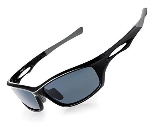 a8ccb031ee JAVIOL Polarized Sports Sunglasses for Men Women Fishing Driving Sunglasses  Cycling Running Baseball Golf uv400