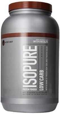 Isopure Zero Carb Protein Powder, 100% Whey Protein Isolate