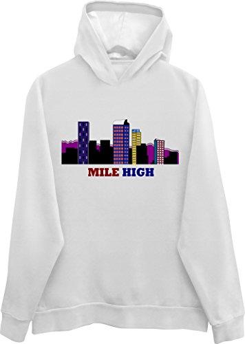Denver Skyline Colorado Hoodie