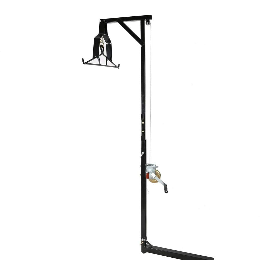 Havilah7 Hunt Hoist Game Hitch Mounted 360º Swivel Hitch Deer Includes Winch Gambrel Complete Kit 400 LB Parts Accessories