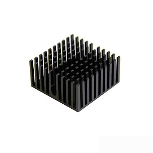 Aavid Thermalloy Heatsink - Finned with Adhesive Tape Pack of 2
