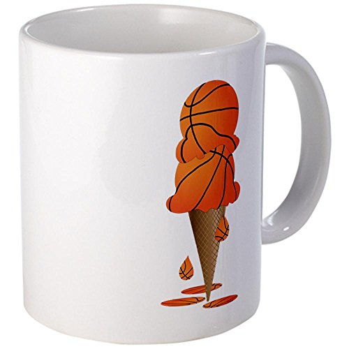 Mug Mega Size (Coffee Drink Cup) Basketball Ice Cream Cone (Mega Size Cones compare prices)