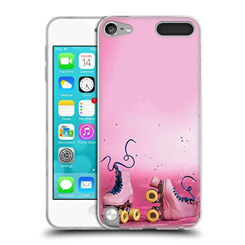 Official Pepino De Mar Roller Skates Assorted Designs Soft Gel Case Compatible for Apple iPod Touch 5G 5th Gen (Ipod 5 Case Skate)