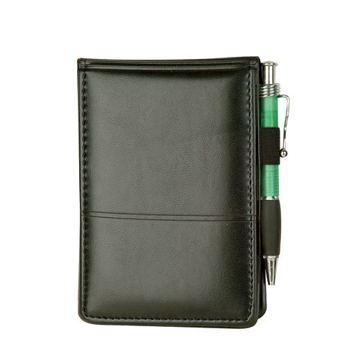 ImpecGear Executive Jotter Notepad Organizer with Business Card Slots, Journalist Jotter, Flip Notepad with Pockets and Pen Holder (Pack of 1 - Executive Jotter) ()