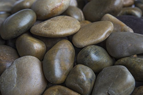 - Rainforest RFMXPA2-20 Mixed Pebbles, Medium, Brown
