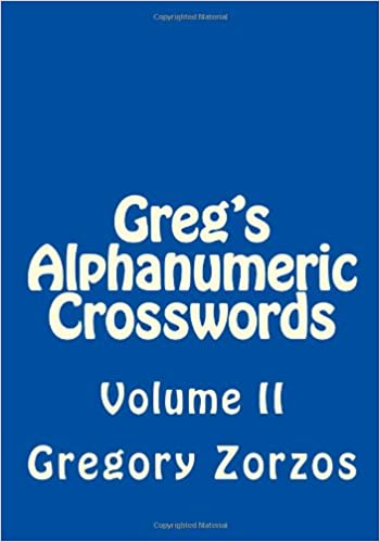 Greg's Alphanumeric Crosswords: Volume II