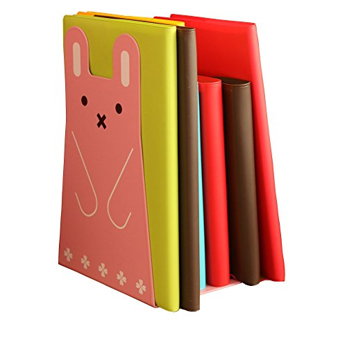 DYQWT 1 Pairs Cute Cartoon Rabbit Nonskid Bookend Book for sale  Delivered anywhere in USA