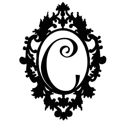 (Personalized Fancy Initial Name C Door Hanger - 20