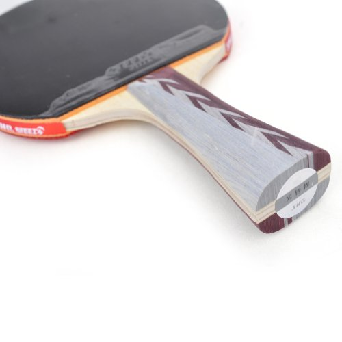 DHS Table Tennis Racket #A4002, Ping Pong Paddle, Table Tennis Racquets - Shakehand
