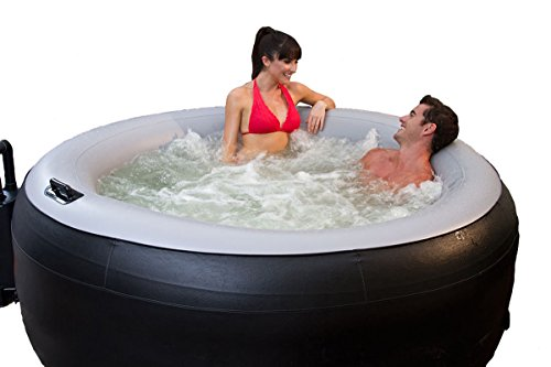 Comfort Line Products STG-1BLK110V EZ Spa-2-Go 4 Person Inflatable Spa