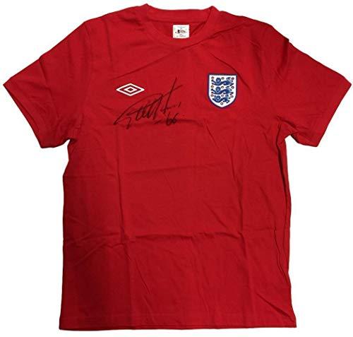 (Geoff Hurst Autographed Jersey - Sir England Umbro Replica BAS - Beckett Authentication - Autographed Soccer Jerseys)