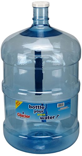 Glacier Water Bottle, 5 gallon, Blue