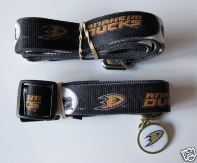 Hunter Anaheim Ducks Pet Combo (Includes Collar, Lead, ID Tag), X-Small