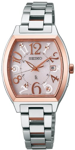 Seiko Lukia Sapphire Glass Super Clear Coating Solar Electric Wave Correction Ssvw048 Ladies Watch Japan Import