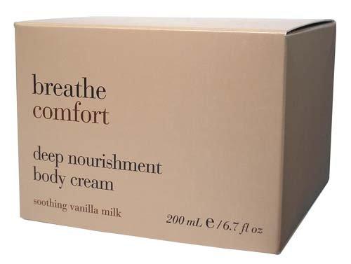 Bath & Body Works Breathe Comfort Deep Nourishment Body Cream – Soothing Vanilla Milk 6.7 oz