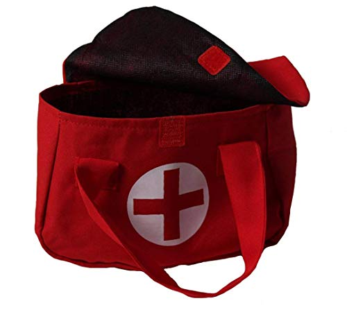 Storybook Wishes Red Pretend Play Toy Doctor Medical Bag