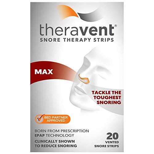 Theravent Snore Therapy, Maximum Strength, 20 Count