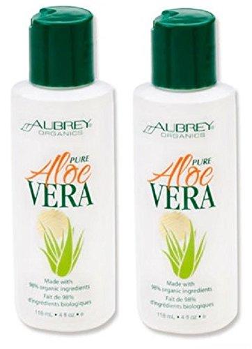 Aubrey Organics Pure Aloe Vera 118ml TWIN PACK