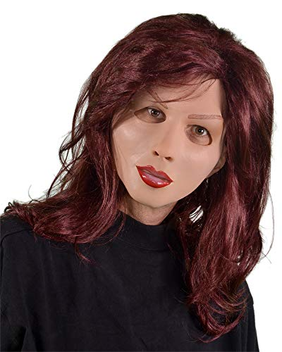 Zagone Soft and Sexy Mask, Female Doll Mannequin, -