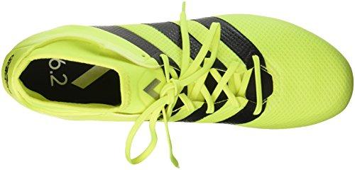 adidas Ace 16.2 Primemesh Sg, Botas de Fútbol para Hombre Amarillo (Amasol / Negbas / Plamet)