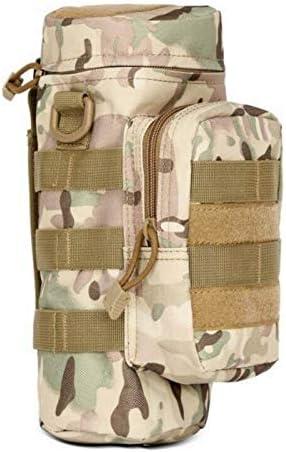 DEBBD Multifunktionale Outdoor-Wasserflasche Tasche Armee Fan Outdoor-Reisen Wandern Bergsteigen Zubeh/örtasche