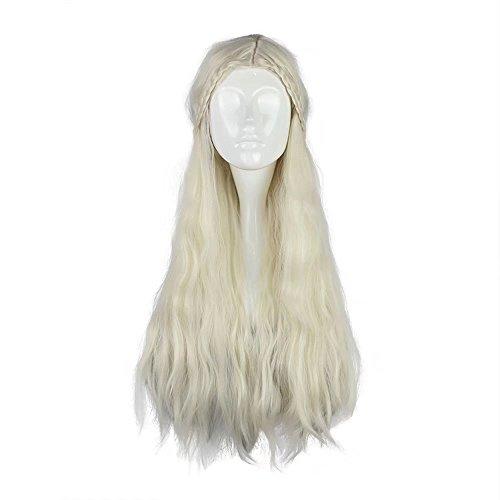 (Kadiya Princess Queen Halloween Christmas Cosplay Costume Wigs Anime Wig)