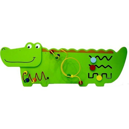 Serra Baby Wooden Animal reliefs along Educational Wall Toy