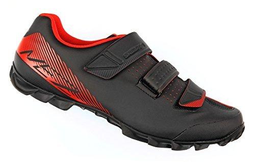 SHIMANO SH-ME2 Men's Mountain Enduro SPD Cycling Shoes - Black/Orange - 42