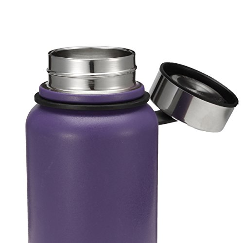 KINGSO-20-oz-Insulated-Water-Bottle-Wide-Mouth-BPA-Free-Travel-Mug-Double-Walled-Stainless-Steel-Sport-Vacuum-Flask-for-Hot-and-Cold-Beverages