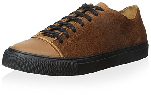 Damir Doma Men's Fulcia Low Top Sneaker, Cognac, 43 M EU/10 M - Damir Doma Men