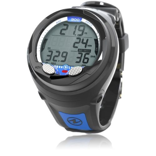 Aqua Lung i300 Wrist, Black / Blue (Discontinued)