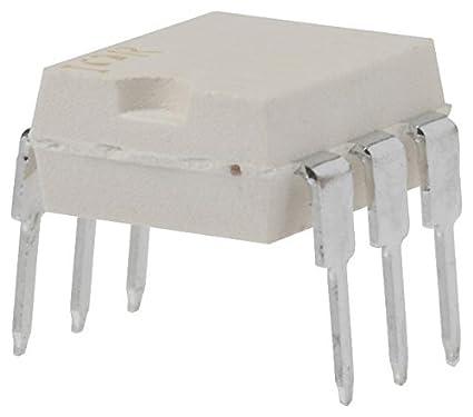 DIP Zero Crossing 7.5 kV 5 X Optocoupler 6 Pins Triac Output 800 V