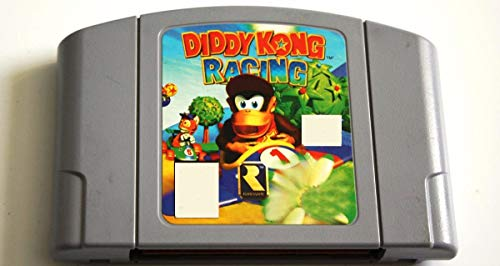 GynVodca N64 Games Diddy Kong Racing N64 USA Version Gray Game Card For USA NTSC Game Player Game Cartridge (Best N64 Racing Games)