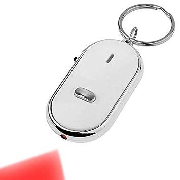 Llavero con Luz Alarma Busca Llaves Casa Coche Key Finder ...