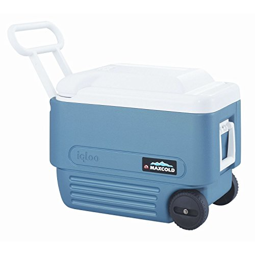 (Igloo 40 Quart Maxcold Extended Performance Wheeled Cooler)