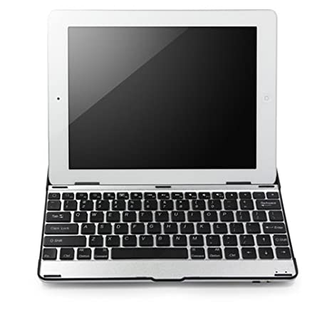 outlet store b5332 859c7 BoxWave Apple iPad 4 Keyboard Buddy Case, Wireless Bluetooth iPad4 Keyboard  and Aluminum Cover for Apple iPad 4th Generation with Retina Display ...
