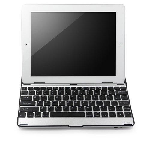 BoxWave Apple iPad 4 Keyboard Buddy Case, Wireless Bluetooth iPad4 Keyboard and Aluminum Cover for Apple iPad 4th Generation with Retina Display (Metallic -