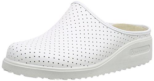 Berkemanntec sandali Sabot Thordu Unisex Bianco bianco Adulto pro rwUtqr