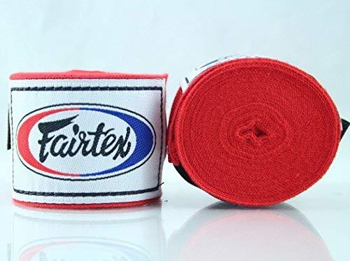 Fairtex Elastic Cotton Handwraps HW2 - Full Length Hand Wraps. Many Colors ()
