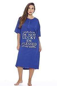 Just Love Short Sleeve Nightgown Sleep Dress for Women Sleepwear