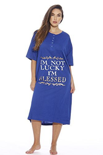 Just-Love-Short-Sleeve-Nightgown-Sleep-Dress-for-Women-Sleepwear