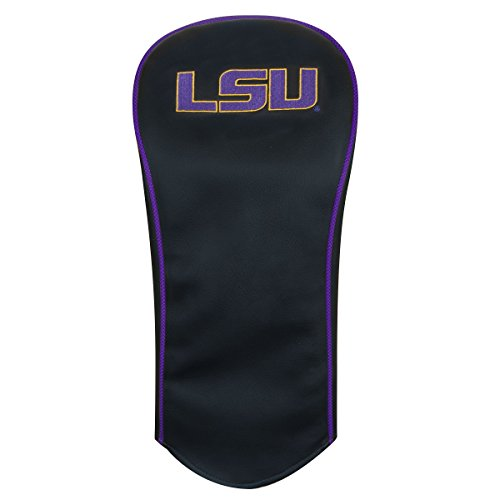 Team Effort LSU Tigers Black Driver Headcover ()