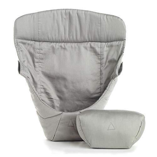 Ergobaby Inzetstuk voor Draagzak Voor Pasgeborenen (3,2-5 kg), Grijs