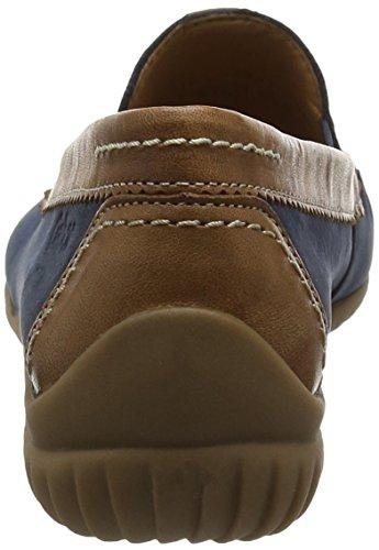 para Shoes Mujer 46 navy Gabor Mocasines copper Azul Comfort v7wT446cpq